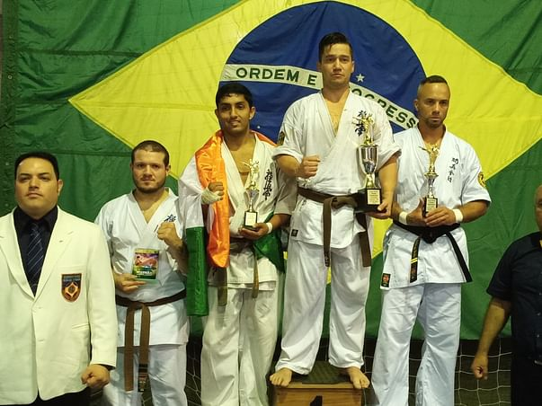 Support Shyamantak to participate in 2020 World Championship.(karate)