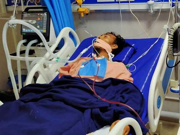38 Years Old T Jilan Basha Needs Your Help Fight Hypoxic Brain Injury