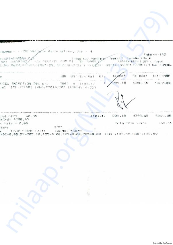 19/1/2020 Medical charges part 2