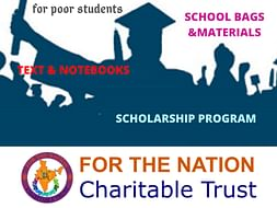 Support Poor Students For Their Education