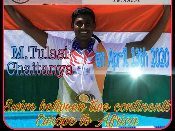 Support This Gold Medalist Swimmer To Fulfill His Dreams
