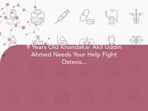 9 Years Old Khandakar Akil Uddin Ahmed Needs Your Help Fight Osteosarcoma