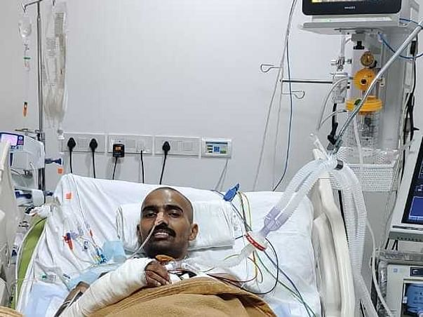 Chandrakant Need Your Help Recover From Road Traffic Accident