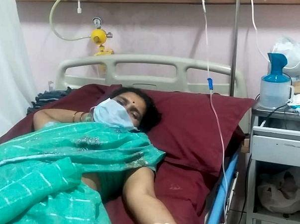 s.Vijayalaxmi need your help to fight A.M. Leukemia(blood cancer)
