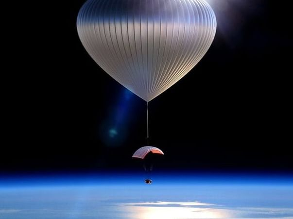 LAUNCHING A HELIUM BALLOON TO MEASURE OZONE LAYER DEPLETION