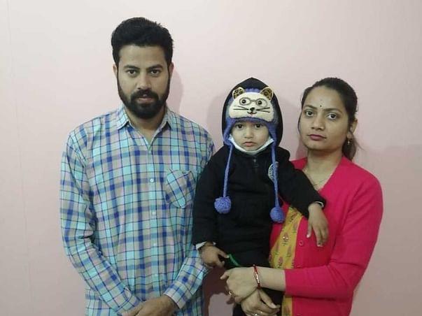 2 Years Old Vardaan Yadav Needs Your Help Fight Acute Lymphoblastic Leukemia