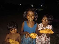 Help children to get food and education