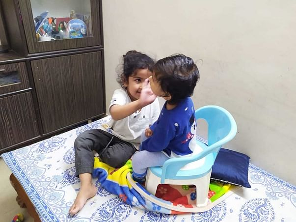 """Riti: I wish I could hear you Mom.  """"Please Help her hear and speak"""""""
