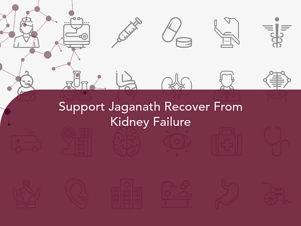 Support Jaganath Recover From Kidney Failure
