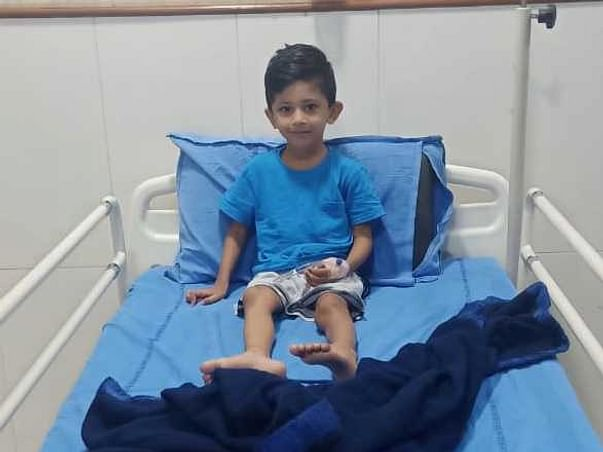 6 years old Shaik Mohammed Siddiq Shabaz Fights with blood cancer
