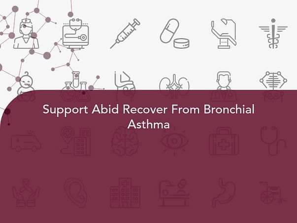 Support Abid Recover From Bronchial Asthma
