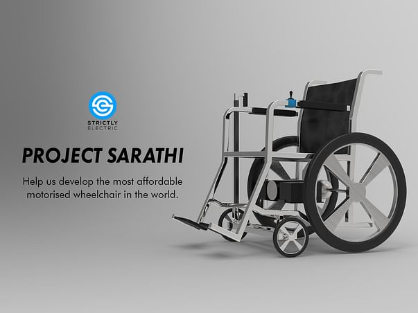 Help Us Build The Most Affordable Motorized Wheelchair In The World