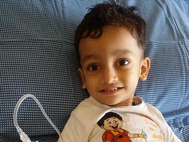2 Years Old Veer Sarwarkar Needs Your Help Fight Blood Cancer