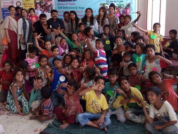 Yuvarotaractclub - Help Us To Educate Slum Dwellers And Rag Pickers