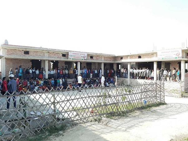 Help us to complete the Finishing work of our School.