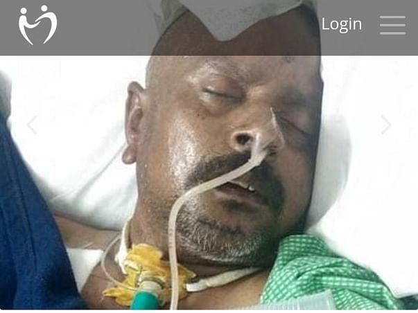Support Srinivasalu Juluri Recover From Accident
