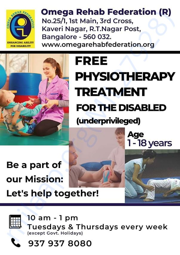 Free physiotherapy treatment