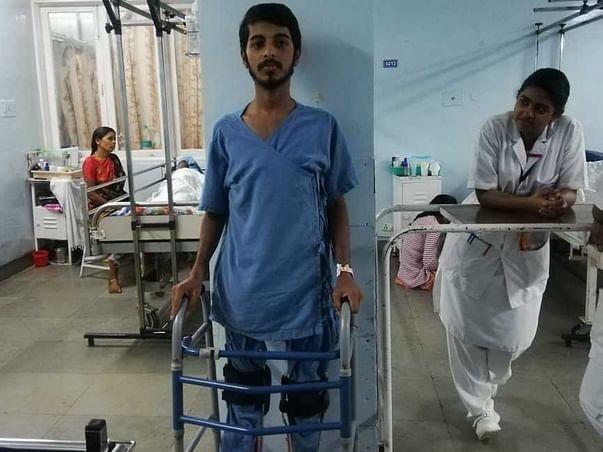 Help Jahid walk again
