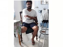 34 Years Old Syed Needs Your Help Recover Fracture Of Several Bones In A Road Traffic Accident