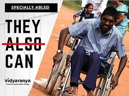 Help kids with mental disabilities to get an education. #TheyCan