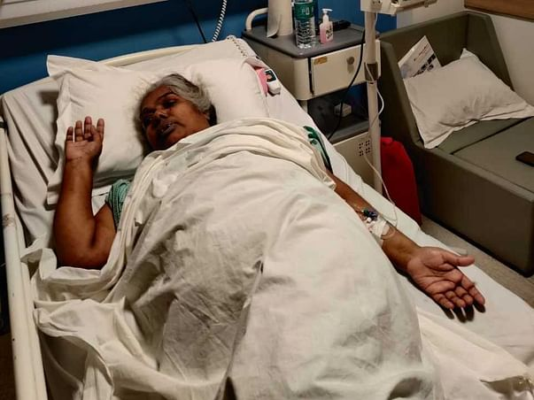 62 Years Old Pushpalatha Redkar Needs Your Help Fight Non-Hodgkin's Lymphoma