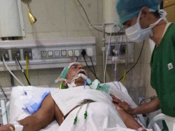 61 Years Old Ram Bhajan Needs Your Help Fight Heart Blockage