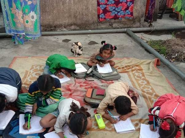 Help The Slum Kids With Their Education