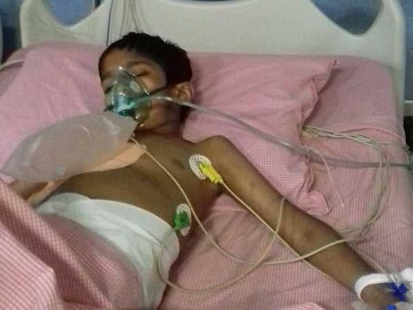 8 Years Old Abdul Needs Your Help Fight Pneumonia