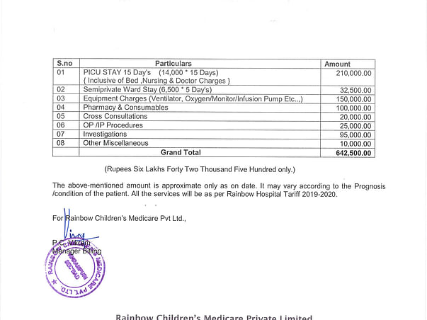 Help Baby Shivram Fight Acute Bronchiolities