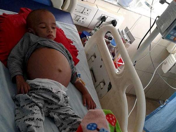 Help 26 Month Old Salauddin Fight Neuroblastoma (stage 4)