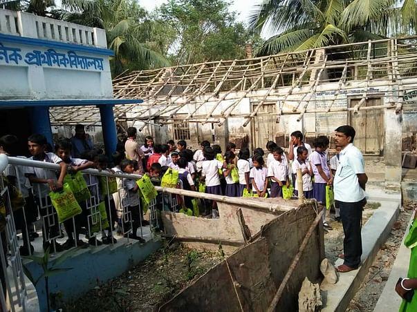 Rebuilding A School In Sundarbans