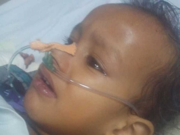 Help little  Lucky to fight cancer