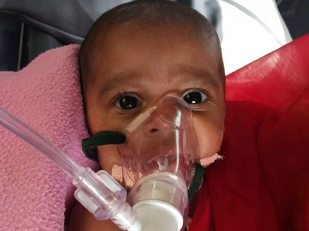6 Months Old Parneeta  Needs Your Help To Recover From Aortic Stenosis