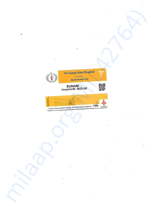 Sir Ganga Ram Hospital ID