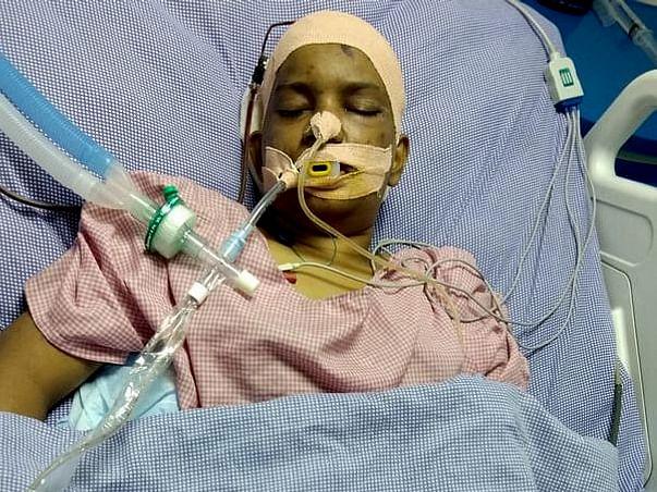Support Monikha Recover From Brain Stroke