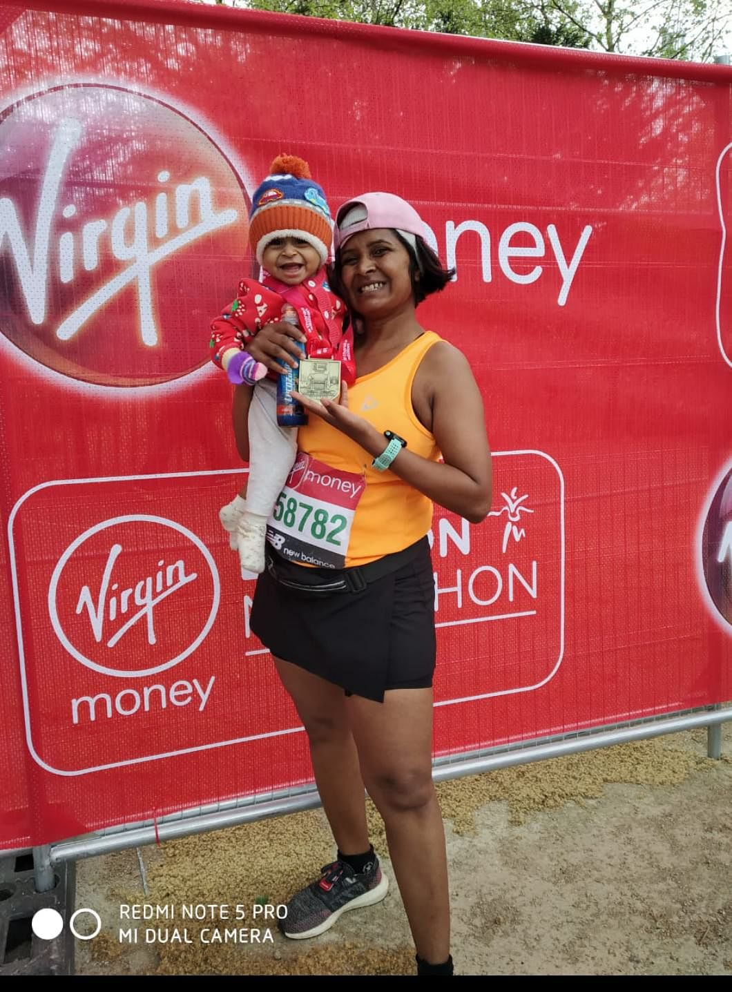 London marathon 2019 with my 8 month old bby