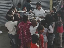 """Help """"Being Helpful"""" Provide Food And Shelter"""