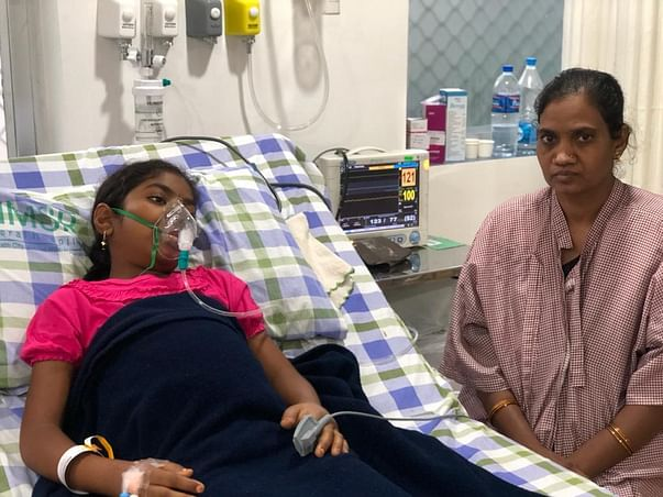 13 Years Old Gayathri Needs Your Help Fight Acute Liver Failure