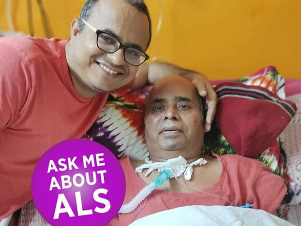 Help My Father with Motor Neuron Disease (ALS)  Staying Alive