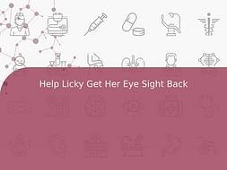 Help Licky Get Her Eye Sight Back