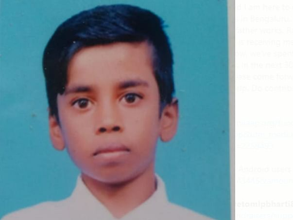 15 Years Old Raghu Needs Your Help Fight Eye Vision Problem