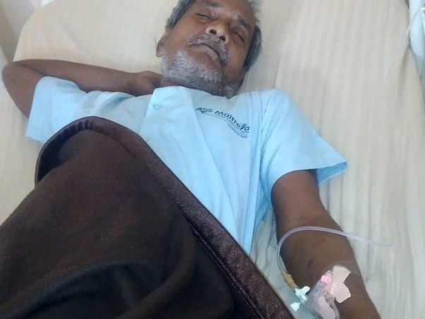 58 Years Old Hemant Rout Needs Your Help Fight Liver Abscess