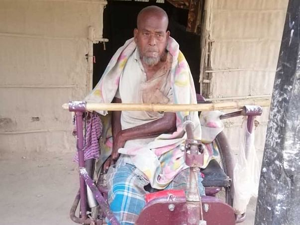 68 Years Old Jamal Needs Your Help Recover Left Side Body Paralysis