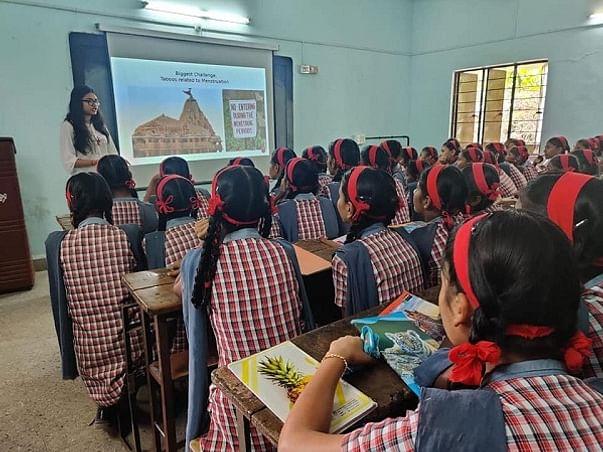 Awareness Training on Menstrual Health and Hygiene