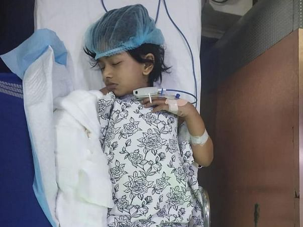 Support Varsha Recover From Electric Burn