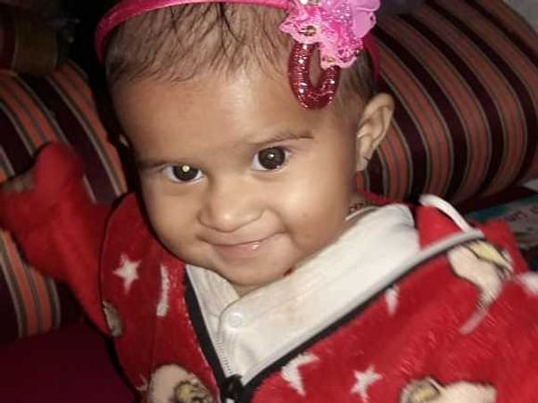This Baby Girl Will Go Completely Blind Because Of Eye Cancer