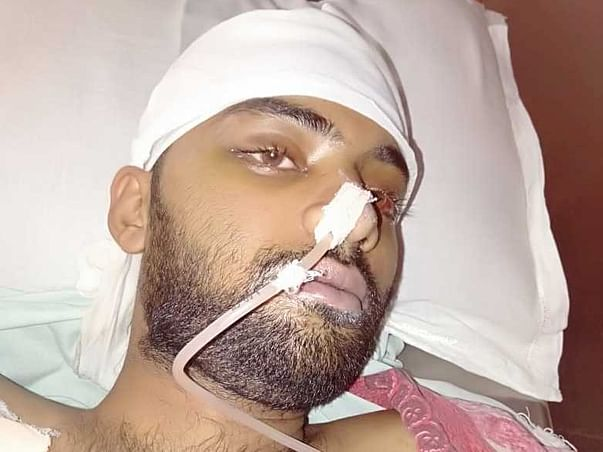 21 Years Old Sagar Awatramani Needs Your Help Fight Road Traffic Accident (Multiple Injury)