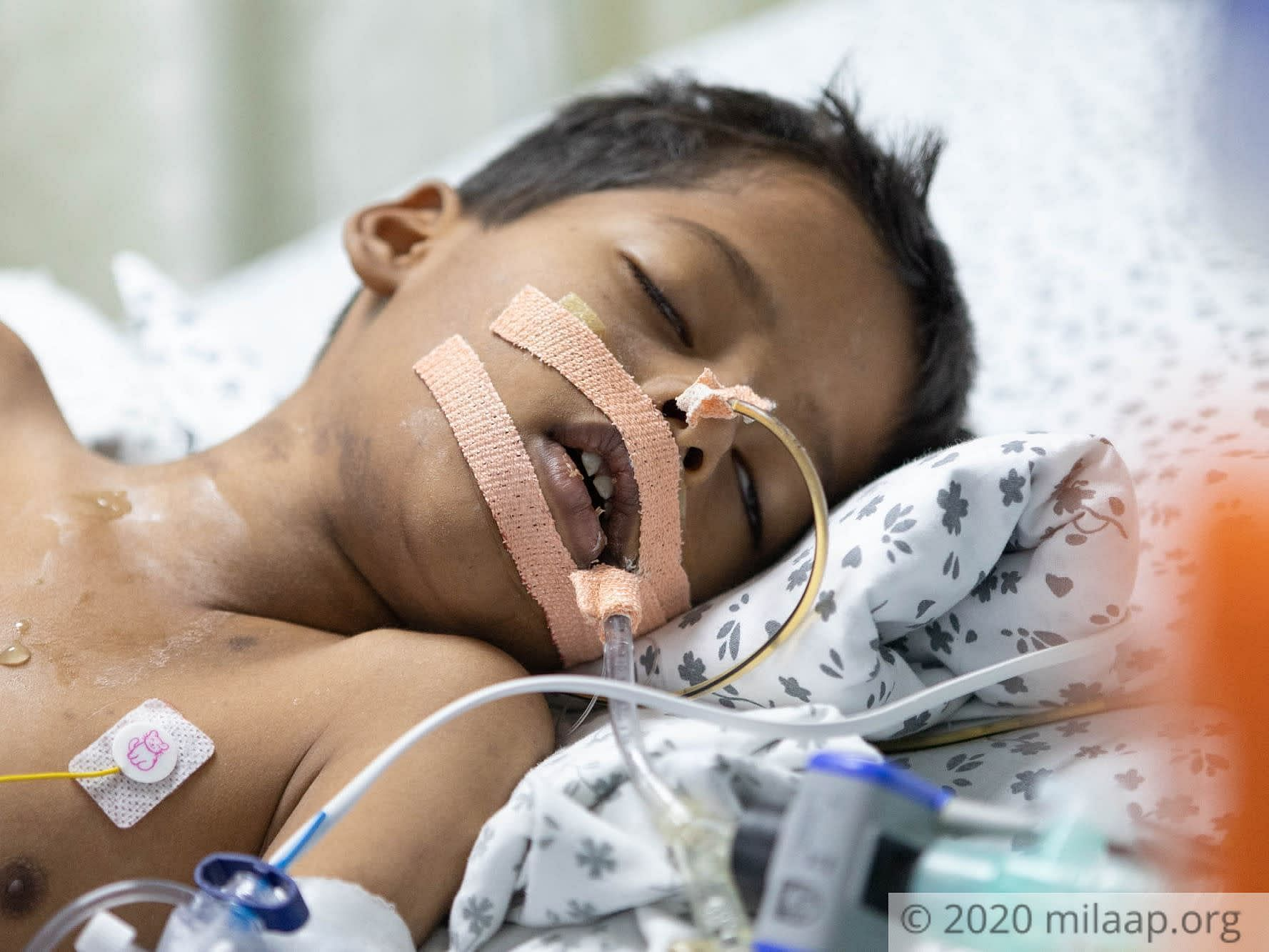 Once An Active Child, This 6-Year-Old Is Now Battling A ...