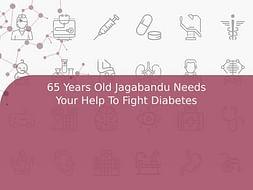 65 Years Old Jagabandu Needs Your Help To Fight Diabetes