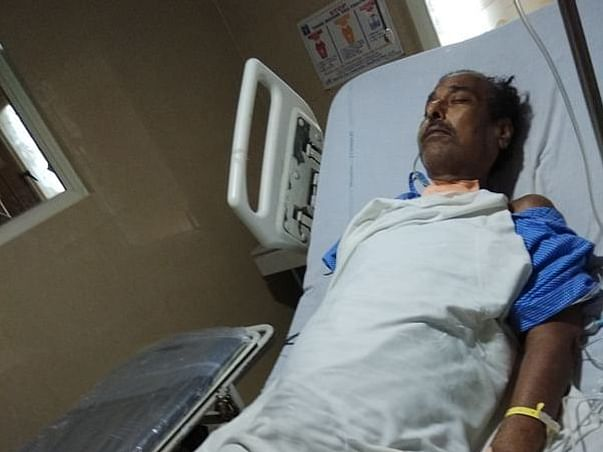 64 Years Old Dilip Kumar Mishra Needs Your Help Fight Liver Failure